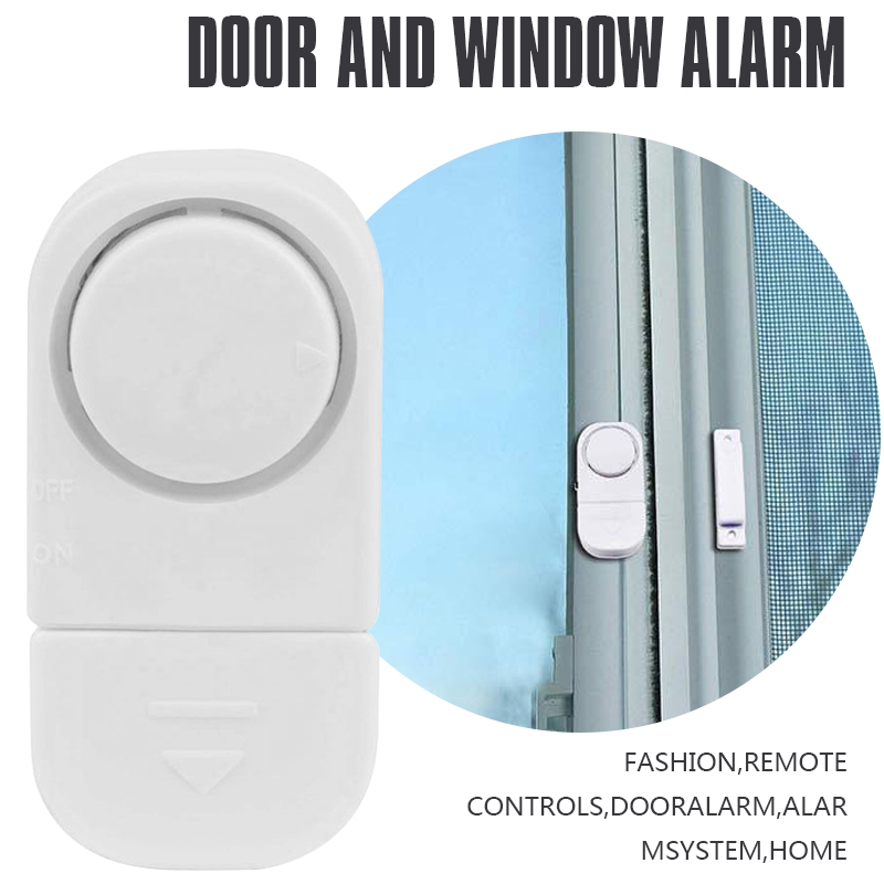 2 pcs of Mool Wireless Home Window Door Burglar Security Alarm System Magnetic Sensor for Home Security System2 pcs of Mool Wireless Home Window Door Burglar Security Alarm System Magnetic Sensor for Home Security System