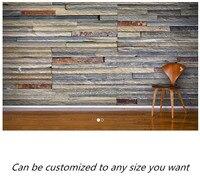 الشحن مجانا مخصصة الجداريات طويل ملون الطوب جدارية أريكة نوم التلفزيون خلفية خلفية.