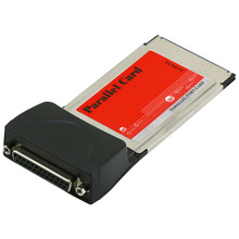 PCMCIA carte à haute vitesse ordinateur portable imprimante parallèle LPT Port DB25 Cardbus adaptateur 54mm PCMCIA Port convertisseur