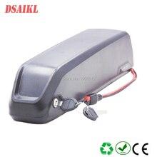 цена на Free shipping 36V 48V 52V tube battery 10Ah 11Ah 12Ah 13Ah 14Ah 15Ah 17A hailong ebike pack with charger