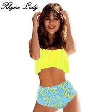 high waist Push Up Brazilian swimming suit