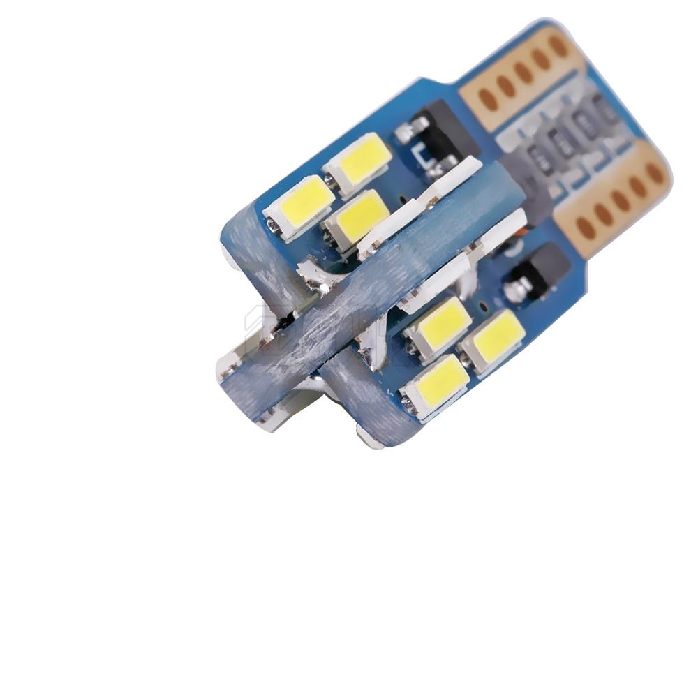2pcs T10 vodio canbus T10 24led 4014 smd LED Bez OBC Pogreška 194 - Svjetla automobila - Foto 4