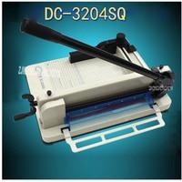 Ручной аппарат для резки бумаги, гильотина для резки бумаги A4, триммер и резак для бумаги машина, триммер для бумаги DC 3204SQ