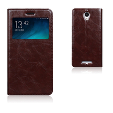 Top Quality Genuine Leather Smart Cover Case For Xiaomi Redmi Note 2 Luxury Flip Stand Mobile Phone Bag + Free Gift