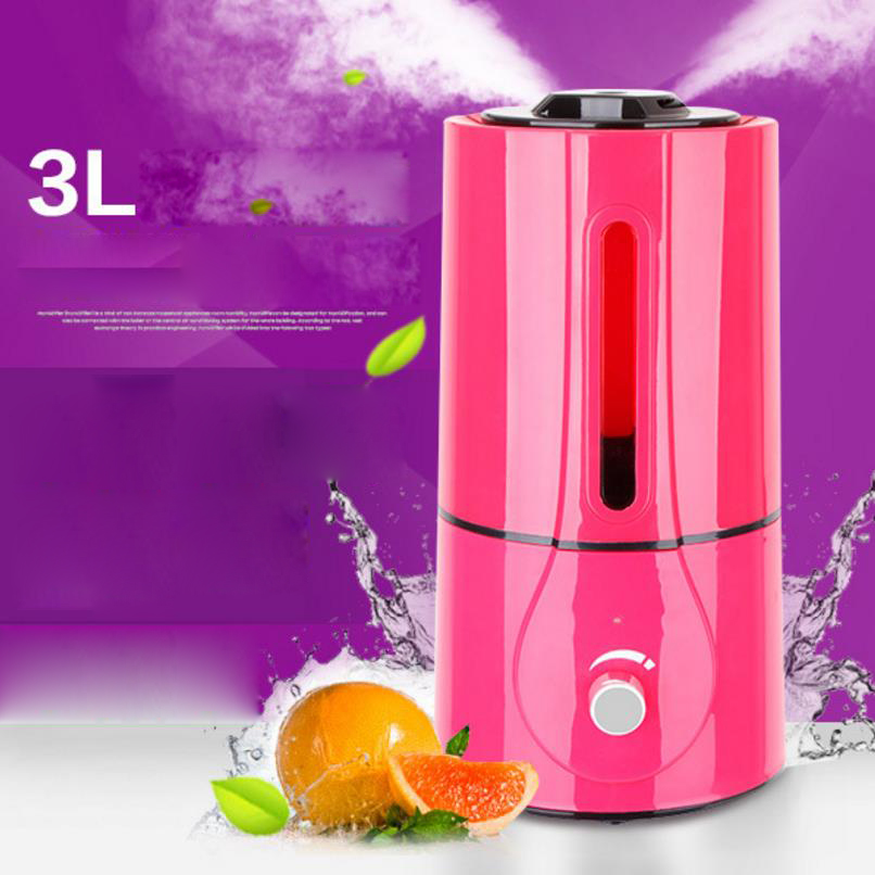 1.3 l ultrasonic air humidifier instructions