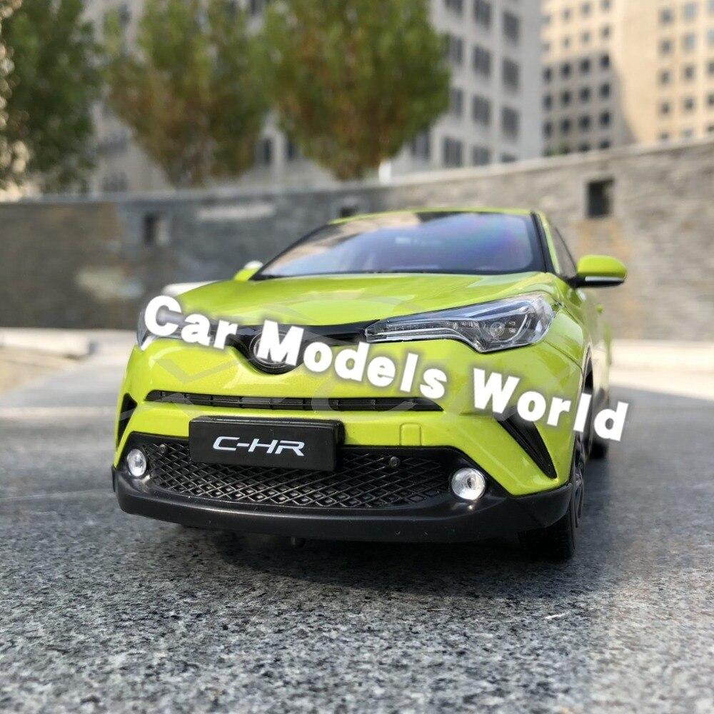 ダイキャストカーモデルため C HR CHR 1:18 (黄緑) + 小ギフト!!!!!!!  グループ上の おもちゃ & ホビー からの ダイキャスト & 車のオモチャ の中 1