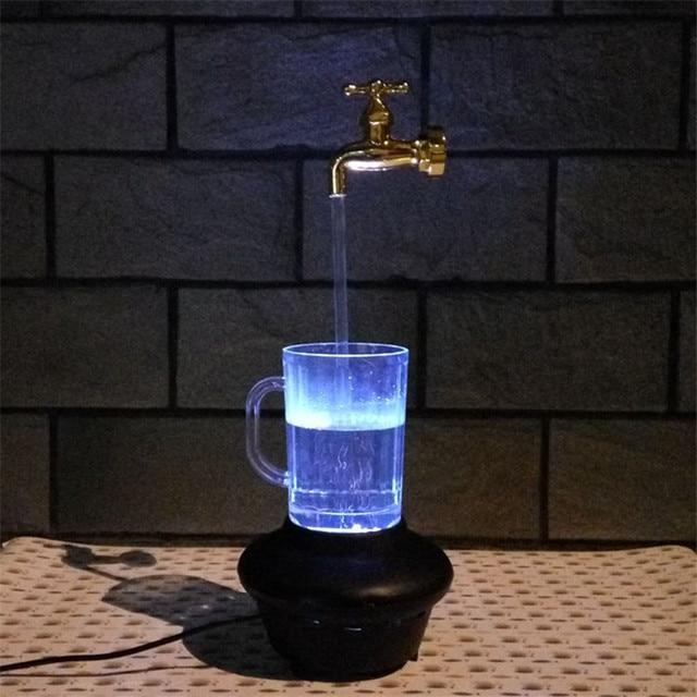 7 Colours LED Faucet Light Water Stream Faucet Tap RGB LED Light ...