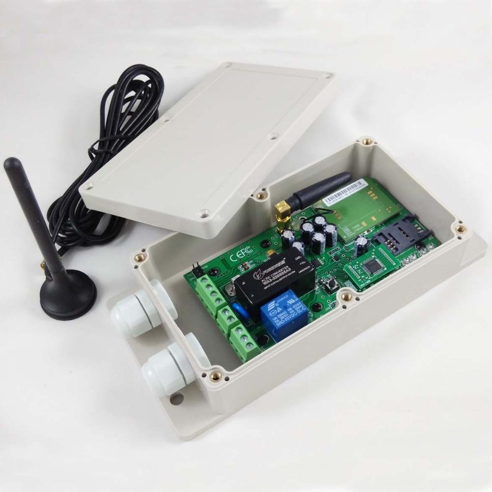 GSM-KEY AC version GSM Remote control for garage door opener (Quad band Designed)GSM-KEY AC version GSM Remote control for garage door opener (Quad band Designed)