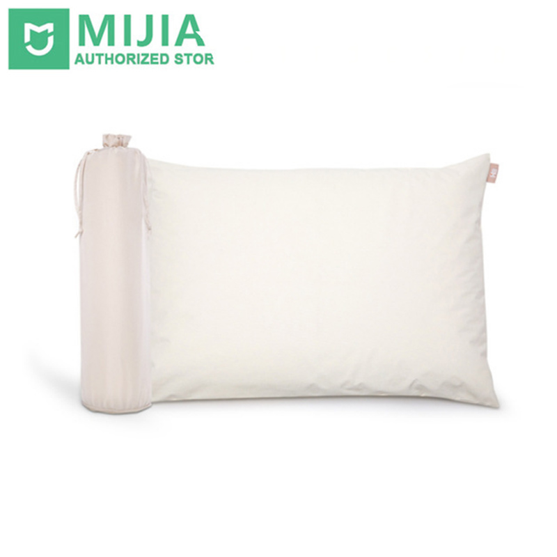 Original Xiaomi 8H Pillow Z1 Standard Natural Latex with Pillow Case Neck Protecting Pillow Anti Mite chic quality flamingo and lotus pattern flax pillow case(without pillow inner)