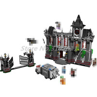 DC Super Heroes Batman Series Building Blocks Arkham Asylum Batcave Break in Joker Duck Car Chariot Breakout Toys For Children