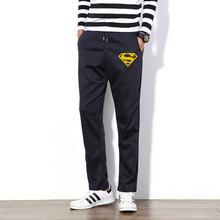 New Autumn Men s Joggers Pants Superman Fitness Clothing Tracksuits Trousers Slim Fit Batman Workout Pants