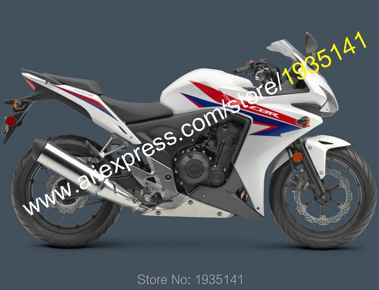 Ventes chaudes, pour Honda CBR500R Pièces 2013 2014 CBR 500R 13 14 CBR 500 R Pièces De Rechange Moto Carénage Kit Carrosserie (Injection moulage)