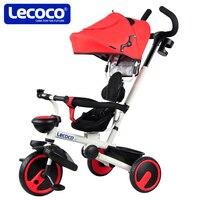 Lecoco детская коляска складные детские игрушки для малышей с солнцезащитным козырьком езды на автомобиле тележка педаль автомобиль легкий в