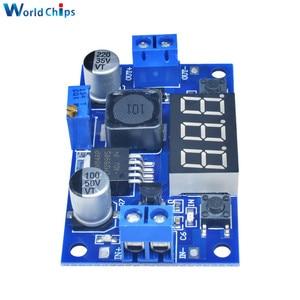 Image 5 - LM2596 dc 降圧コンバータモジュール dc/dc 4.0 〜 40 に 1.25 37 v 2A 調整可能な電圧レギュレータ led 電圧計で