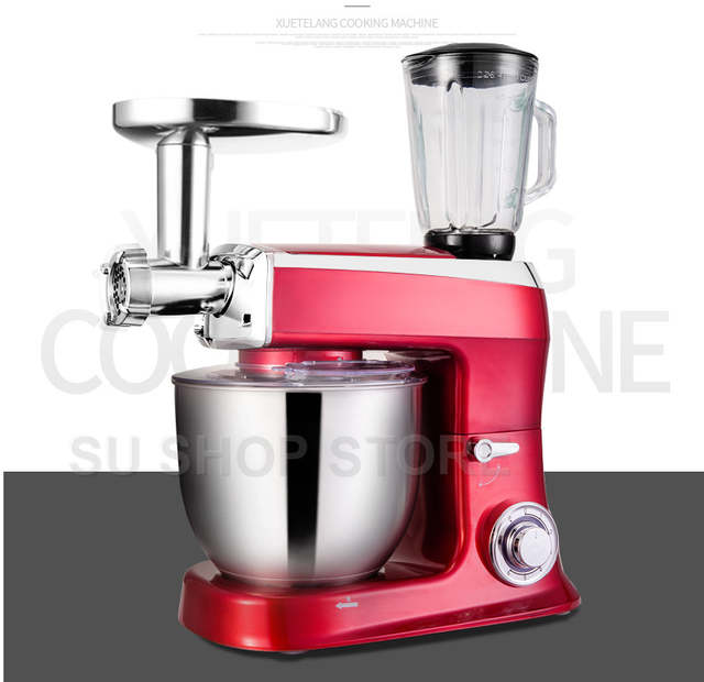US $274.55 15% OFF|7.5LBlender 1500W Bowl lift Stand Mixer Kitchen Stand  Food Milkshake/Cake Mixer Dough Kneading Machine Maker food mixer-in Food  ...