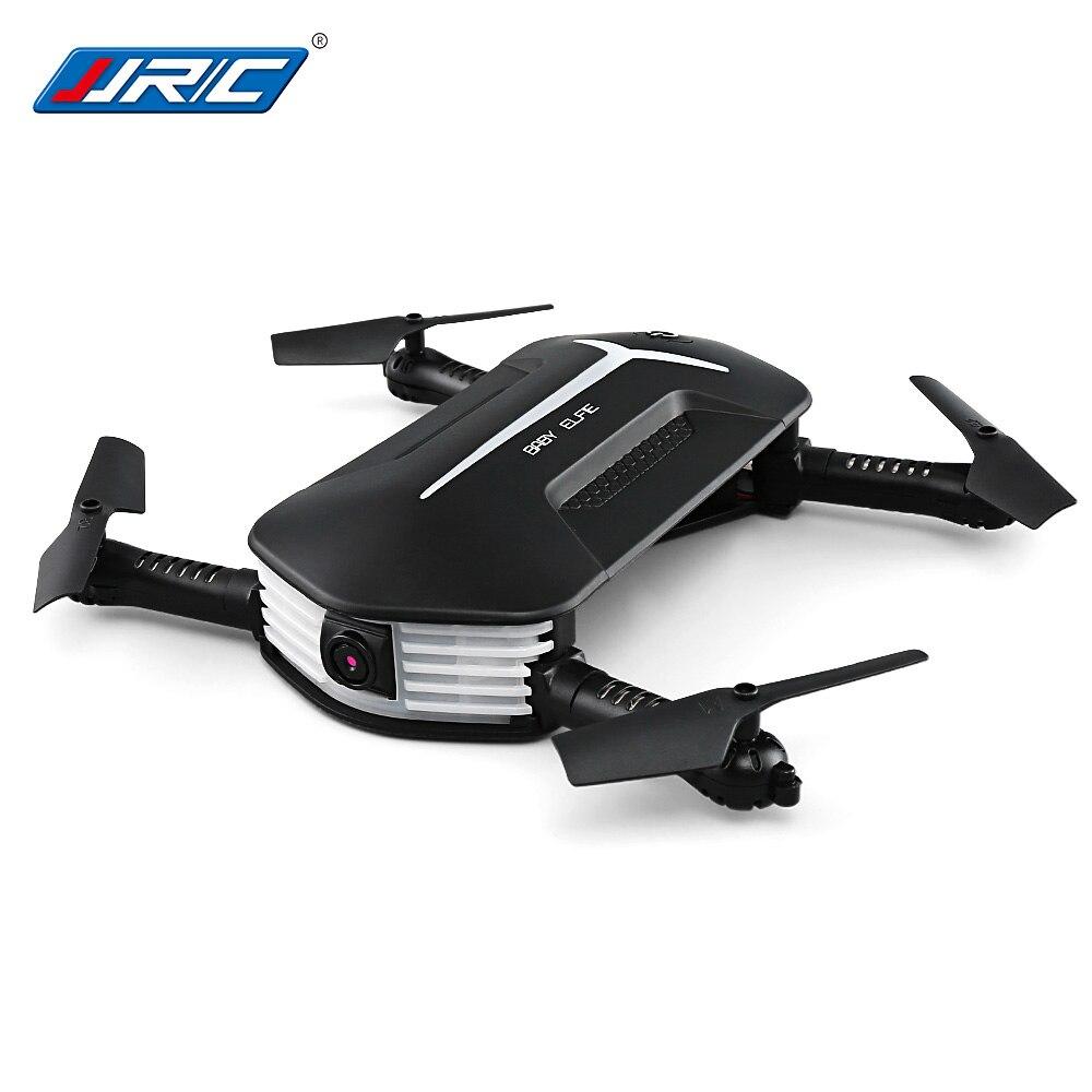 JJRC H37 мини Радиоуправляемый Дрон маленьких ELFIE складной радиоуправляемые Квадрокоптеры RTF Wi-Fi FPV 720P HD G-Сенсор приложение Waypoints Портативный ве...