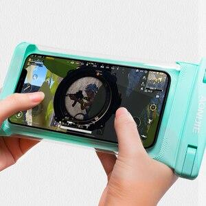 Image 3 - AONIJIE E4103 كامل الشاشة غطاء هاتف مضاد للماء حقيبة جافة غطاء الهاتف المحمول الحقيبة نهر الرحلات السباحة الشاطئ الغوص الانجراف
