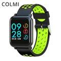 COLMI Smartwatch S9 2.5D Экран гориллы Стекло крови кислородом артериального давления поля IP68 Водонепроницаемый трекер Smart часы - фото