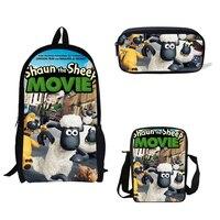 Shaun The Sheep Printed Backpack Mini Boys Single Shoulder Bag Titanic Pencil Bag Girls School Bag For Kids Gift