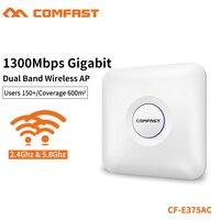 COMFAST 1300Mbps Gigabit Dual Band Wireless Ceiling AP 2.4G&5.8Ghz High Power Wi fi Router Signal Amplifier Extender CF E375AC