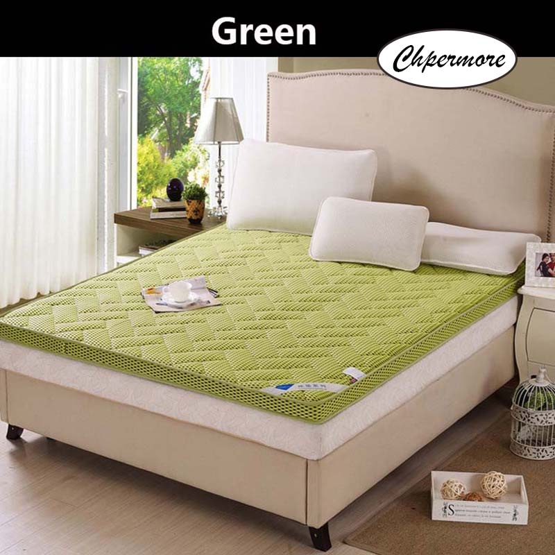 Chpermore 3D Stereo Ventilation Mattress Health Care Tatami Foldable Single Double Mattresses Cotton Cover King Queen Size