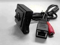 Super Mini Pinhole HD Slim Box P2P Network Camera With Dual Stream Cloud Server ONVIF Standard