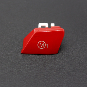 Image 4 - For BMW M Series M2 M3 M4 F80 F82 F83 GTS 3.0T 2pcs Car Steering Wheel Customized Red M1M2 Mode Switch Button Replacement Cover