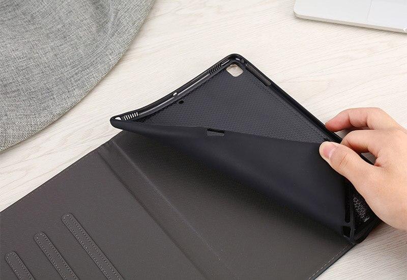 Luxury Case For ipad Pro 11 inch 2018 Silicone Soft Back Slim Leather Smart Cover Auto Sleep  Wake Up For ipad Pro 11 Case (4)