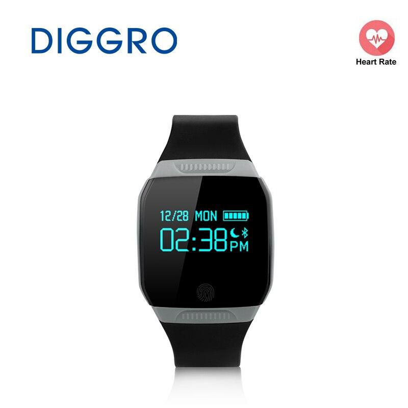 imágenes para Diggro E07S IP67 A Prueba De agua Reloj Inteligente Inteligente Muñequera Actividad Rastreador de Ejercicios para iOS y Android Pulsera Salud