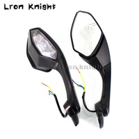 For YAMAHA YZF R6 YZR R6 2017 2018 18 YZF R1 R1 YZFR1 2015 2018 Motorcycle Rearview Mirror LED Turn Signal Light Case Motorbike