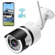 CPVAN 1080 P HD Открытый безопасности Камера IP66 Водонепроницаемый Wi-Fi пуля Камера, Беспроводной IP CCTV Камера Системы с 82ft Ночное видение