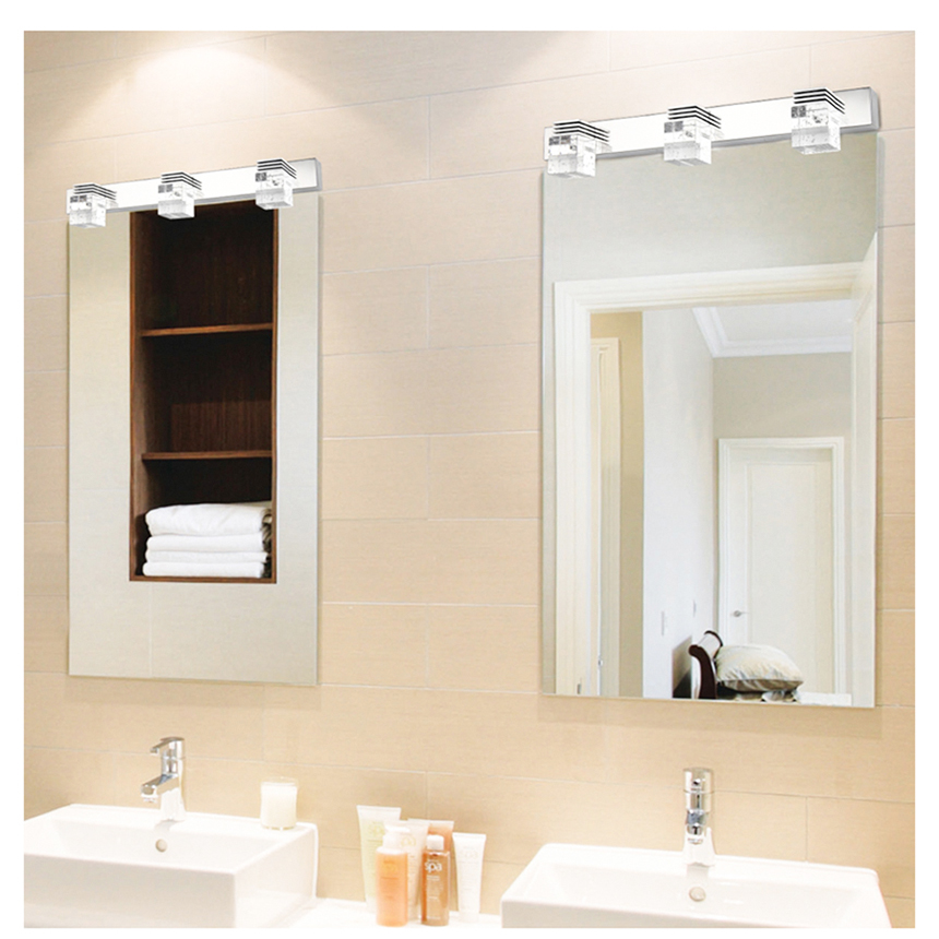 32cm 6w mounted lights modern led mirror light wall lamps bathroom 32cm 6w mounted lights modern led mirror light wall lamps bathroom crystal light nature white clear lighting 220v sconce 2 heads in wall lamps from lights aloadofball Gallery