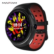 "3G Smart Watch Phone 2,0 MP Smartwatch 1,39 ""OLED 1 GB/16 GB Unterstützung Sim-karte Bluetooth für Android IOS WIFI GPS Google MF12 Z10"
