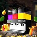 3tank цилиндрическая машина для напитков коммерческий горячий/Холодный Напиток Молочный кофе сок Спрей Тип диспенсер для напитков машина VC-S ...