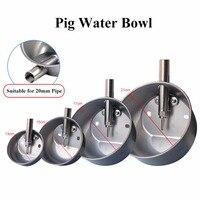 304 Aço Inoxidável Beber Porco Tigela de Água Quatro Tamanhos Equipamento Alimentador De Leitões Porco Bebedouros Automáticos