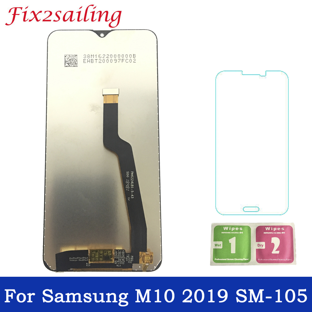 Super AMOLED Display For Samsung Galaxy M10 2019 SM-105 M105F M105DS LCD Display Touch Screen Digitizer Assembly Free ShippingSuper AMOLED Display For Samsung Galaxy M10 2019 SM-105 M105F M105DS LCD Display Touch Screen Digitizer Assembly Free Shipping