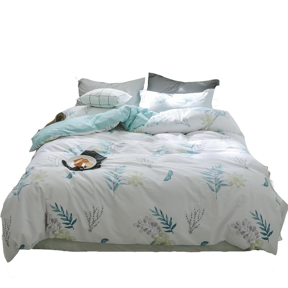 spring plants duvet cover set twin queen size bedding sets