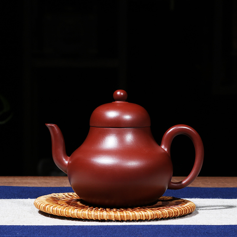 Ceramic Purple Clay Tea Set Chinese Handmade Tea Pot Yixing Purple Sand Teapots Kung Fu Porcelain