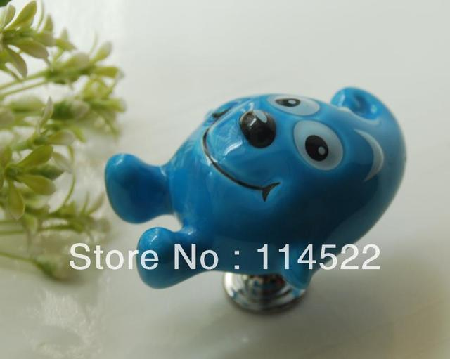 kid's cartoon fairy knobs cabinet/ drawer/ dresser/ cupboard/wardrobe knobs pulls wholesale & retail 50pcs/lot FD1343