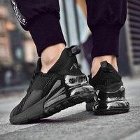 Мужская Спортивная обувь 2019 брендовая беговая Обувь Дышащая zapatillas hombre Deportiva 270 Высококачественная Мужская обувь кроссовки