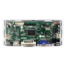 HDMI DVI панель VGA М. NT68676 чехол акрил чехол Frame белый