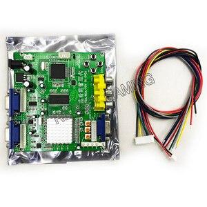 RGB CGA EGA YUV в VGA HD видео конвертер плата moulle HD9800 HD-конвертер плата GBS8200 незащищенная защита, 1 комплект