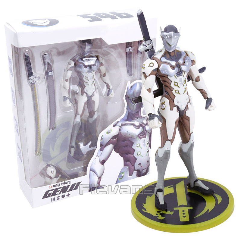 Hot Game OW Genji PVC Figure Collectible Model Toy цена 2017