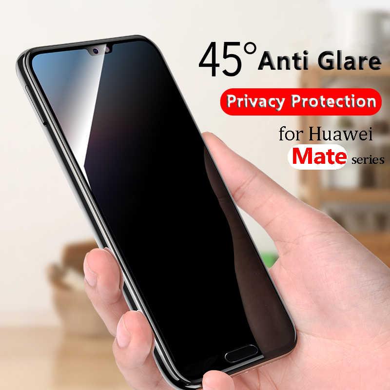 נגד בוהק מזג זכוכית עבור Huawei mate 10 מסך מגן מקרה עבור Huawei 10 לייט 9 כיסוי סרט