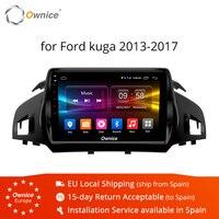 Ownice K1 K2 K3 Octa восемь основных Android 9,0 автомобилей радио плеер с gps навигатором для Ford Kuga 2013 2015 2 Гб Оперативная память 32 ГБ Встроенная память под