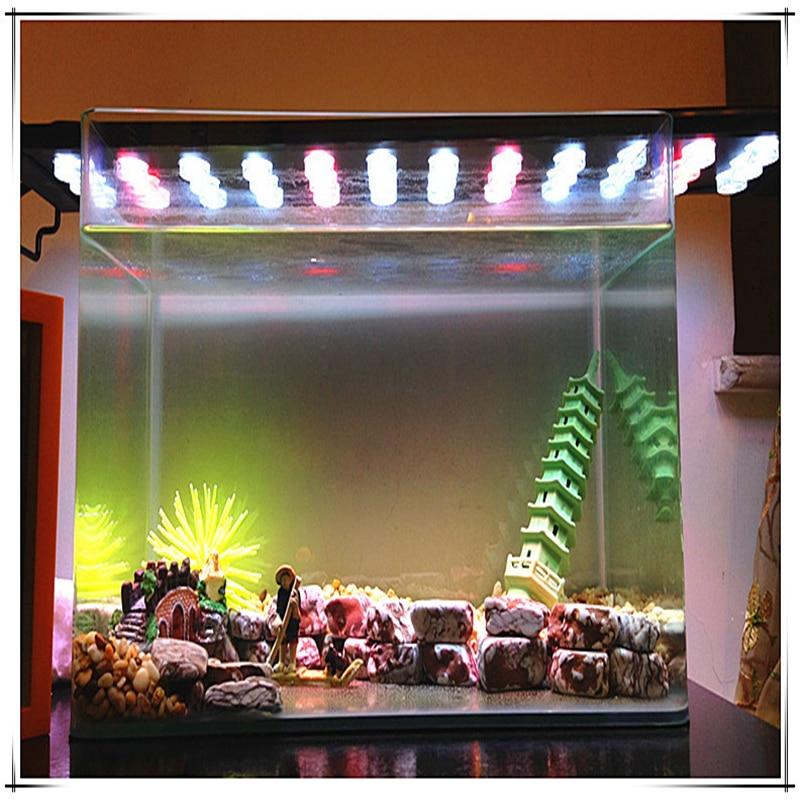 16w 30cm High-power LED aquarium lights aquarium plants rod holder lamp light lamp warranty highlight the sea water tank