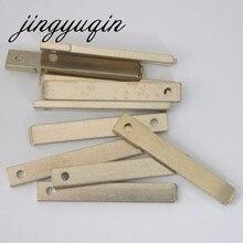 Jingyuqin 20 unids/lote clave sin grabar reemplazo para Renault Citroen Peugeot llave remota llave Original de coche VA2 hoja sin cortar