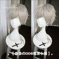 Bungo Stray Dogs Nakajima Atsushi silver gray short anime cosplay wig Heat resistance fibre hair free shipping