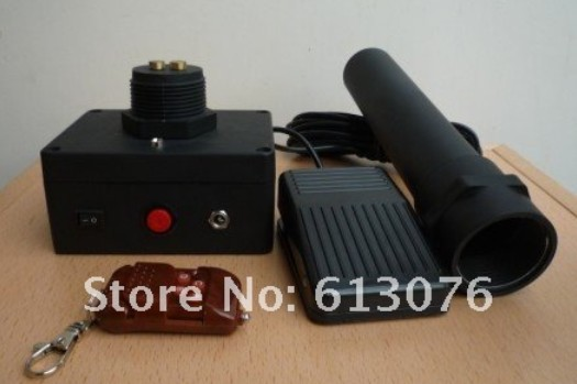 Great Magic Electronic Fire Snow storm Cannon -- Super Deluxe, close-up,illusions, fire magic,Accessories,mentalism