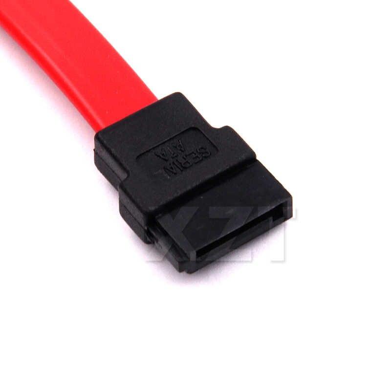 Cable SATA de alta calidad, Cable Serial de 0,45 m para conexión de disco duro Serial ATA SATA II 2, Cable de datos de disco duro